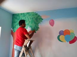 play school classroom painting mahim play school wall painting mumbai