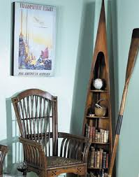 Boat Shelf Bookcase Bookcase Raw Boat Decorating With Boats Decorating With Wooden Oars