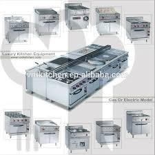 stainless steel commercial kitchen equipment for new restaurant