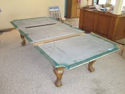 3 in one pool table one piece slate vs three piece slate by pool table charming 3