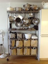 kitchen cabinet organizers for pots and pans kitchen kitchen pots and pans storage hang from bakers rack