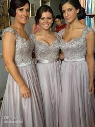 silver bridesmaid dresses luxury bridesmaid dresses beaded embroidery sheer back cap