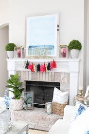 our valentine u0027s day mantle decor a blissful nest
