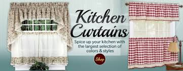 Kitchen Curtains Modern Interesting Valance Curtains For Kitchen And Curtains Modern