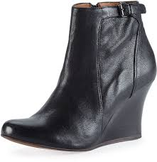 Grey Wedge Ankle Boots Lanvin Leather Wedge Ankle Boot Black Where To Buy U0026 How To Wear