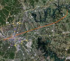 Nashville Zip Code Map by April 16 1998 Tornado Outbreak
