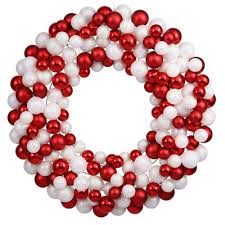 christmas ball wreaths christmas wreaths land