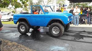 bronco jeep 2017 burnout 2017 clayton rock ford bronco youtube