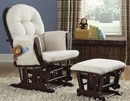 Nursery Rocking Chairs With Ottoman Nursery Rocking Chairs And Gliders Concept Home Interior Design