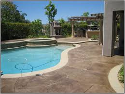 Patio Paint Concrete by Paint Concrete Patio To Look Like Tile Patios Home Design