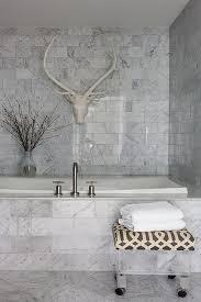 Carrara Marble Tile Bathroom Design Ideas - Carrara marble bathroom designs