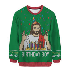birthday boy jesus unisex sweater funny pinterest birthday