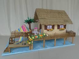 urne de mariage paillote des îles urne mariage les créations déco de marsouille