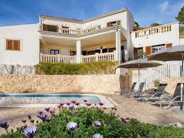 large open plan villa and pool spacious tranquil mountain villa