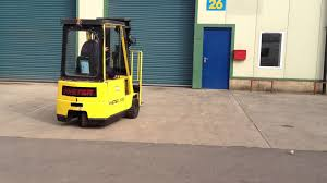 hyster a1 50xl 1 5 ton electric forklift truck youtube