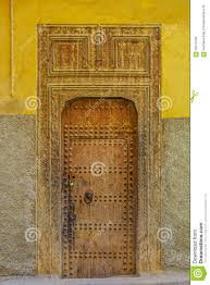 Moroccan Houses by Old Door Of A Traditional Moroccan House Stock Photo Image 59110795