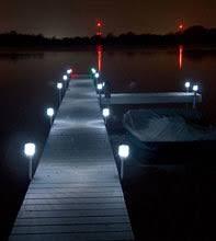 solar dock lights solar dock post lights 2 pack weeders digest