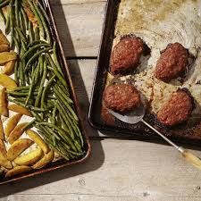 mini meatloaf cooking light mini meatloaves with green beans potatoes recipe eatingwell
