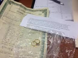 widow wedding ring widow drops sentimental donation in salavation army kettle