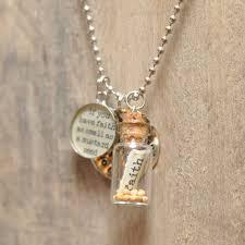 faith of a mustard seed necklace best 25 mustard seed jewelry ideas on mustard seed