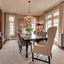 Awesome Dining Room Chandelier Height Pictures Home Design Ideas - Height of dining room table light