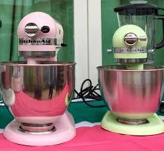light pink kitchenaid stand mixer launch event the kitchenaid artisan mini mixer and the spiralizer