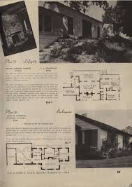 small retro house plans california plan book 1946 vintage house plans 1940s