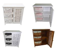 Bathroom Storage Unit by 3 Chest Of Drawers With Cupboard Bedside Table Bathroom Storage