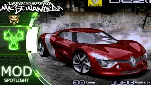 renault dezir concept need for speed most wanted 2005 car mods