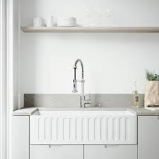 36 inch farmhouse sink vigo all in one 36 inch matte stone farmhouse sink edison faucet set