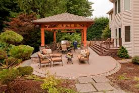 Covered Patio Pictures And Ideas Tenhulzen Residential Detached Covered Patio Tenhulzen Residential