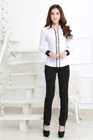 womens blouses for work 2015 autumn formal white shirts blouses work wear