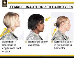 air force female hair standards secretary of defense orders a review of grooming standards
