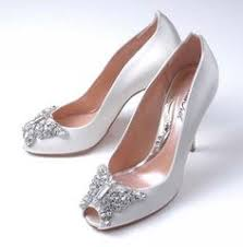 Wedding Shoes Harrods Sparkly Arunaseth Cinderella White Crystal Weddingshoes
