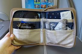 United Bag Check Fee Amenity Kit Faceoff United Polaris First Vs Business