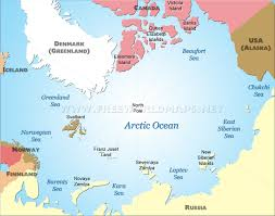 Europe On Map by Geography And Map Of The Arctic Ocean