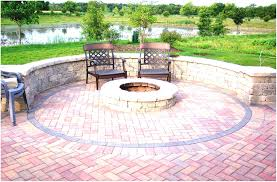 backyards appealing plain simple outdoor fire pit ideas became