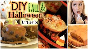Diy Halloween Treats Diy Halloween Fall Treats Youtube