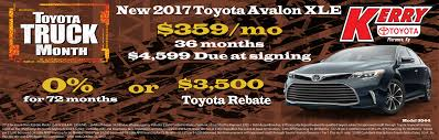new toyota deals new lease deals at your kerry toyota dealer serving florence ky