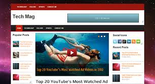 tech mag v1 1 u2013 adsense supported premium free blogger template