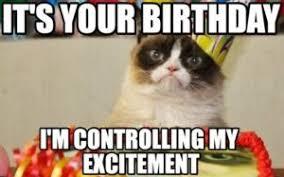Grumpy Cat Meme Happy Birthday - happy birthday grumpy cat meme happy birthday cat meme pinterest