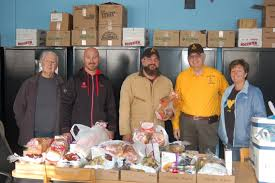 masons of jefferson lodge lewes donate thanksgiving dinners cape