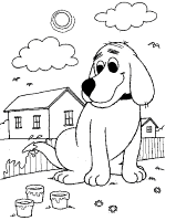 clifford coloring pages mega coloring pages 8 clifford the big red dog coloring pages