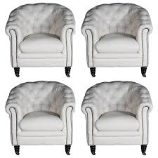 Club Armchairs Set Of Four Chesterfield Club Armchairs Lounge Armchairs Italy