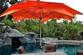 Big Patio Umbrellas by Patio Umbrella Orange 9 U0027 Flower Petalquality Patio Umbrellas