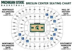 Msu Maps Msuspartans Com Michigan State University Official Athletic Site