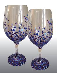 wine glass paint at studio paint a treasure central new jersey