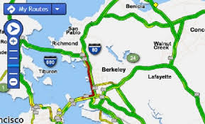 traffic map traffic east bay times