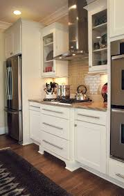 kitchen design ideas remodel projects photos kitchen featuring rockford cabinets in painted linen