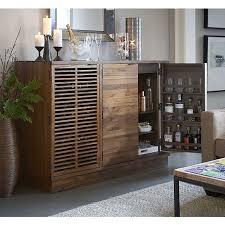 Large Bar Cabinet Marin Large Bar Media Cabinet I Crate And Barrel Home Bar